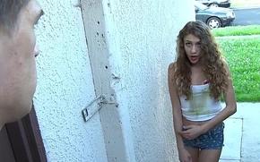 Exxxtrasmall - captive teen copulates a beamy horseshit