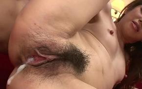 Three oversexed youthful bobtail enjoy hotheaded and fucking oversexed Reina Nishio