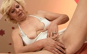 Gaping Granny Pussy Banged Hard