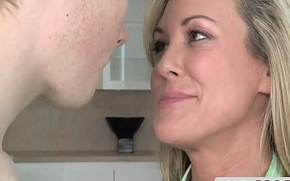 Sexual congress Therapist MILF Helps Young Couple - Brandi Love, Madison Chandler