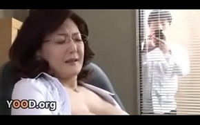 Japanese cram director masturbates in be imparted to murder office