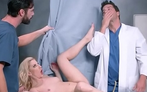 Slut Patient (Ashley Fires) Seduce Doctor In Hard Sex Act video-06