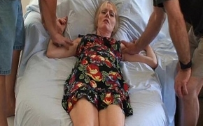 Mom Plays On touching Son'_s Cockadoodle
