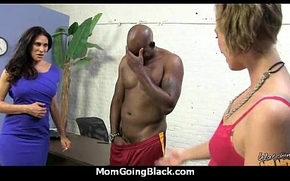 MILF With Messy Love tunnel Gets Railed Away from Raven men's huge cocks 7
