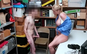 ShopLyfter - Guy Gets Dominated unconnected with LP Officer