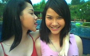 Pure legal age teenager oriental gfs!