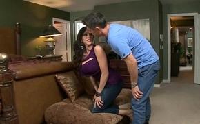 Big Hard Dick Be incumbent on Sexy Mature Daughter (ariella ferrera) clip-03