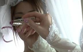 Brides win fucked by exboyfirend -Kaori Maeda-