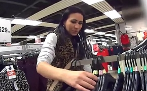 Perfect czech nympho was tempted in the mall and fucked in pov